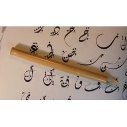 Calame pour calligraphie arabe