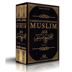 Sahih Muslim - L'abrégé de l'authentique- 2 Volumes