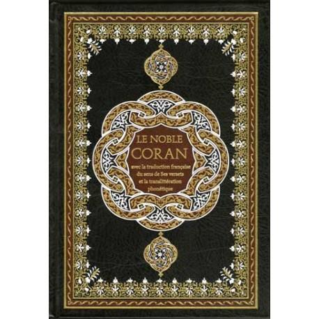 Le noble Coran phonétique,arabe, français - grand format +cd