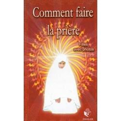 Comment faire la prière pour les filles ?  Texte arabe français-phonétique