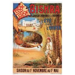 Biskra, Station Hivernale et Thermale  (Affiche)