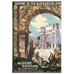 L'Algérie Romaine - Djemila (Affiche)