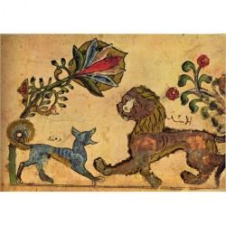 Kalîla wa Dimna de Bidpai : Le lion et le chacal Dimna