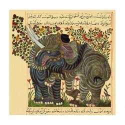 Livre sur l'Utilité des animaux, Abou Said ibn Bakhtishu : les éléphants