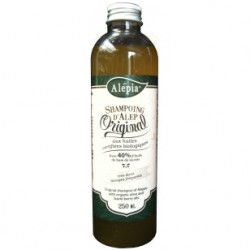Shampoing d'Alep 40% laurier