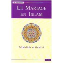 mariage en islam modalites et finalite(le